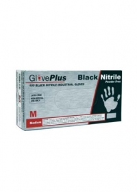 TEC 1425 BLACK NITRILE GLOVES